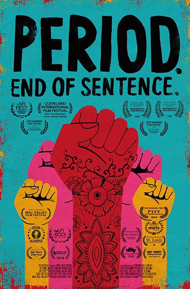 Period  End of Sentence ' Short documentary about menstruation and