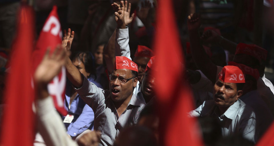 200 million on strike in India; Communist Party leaders detained