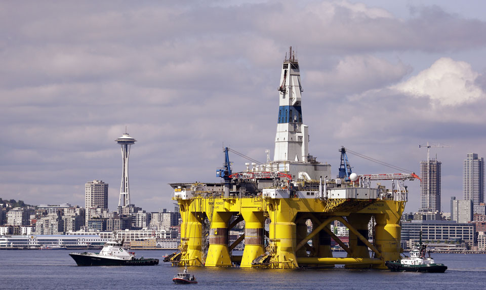 Government shut down, but oil development mostly open for business