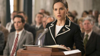RBG hits the big screen again in 'On the Basis of Sex'
