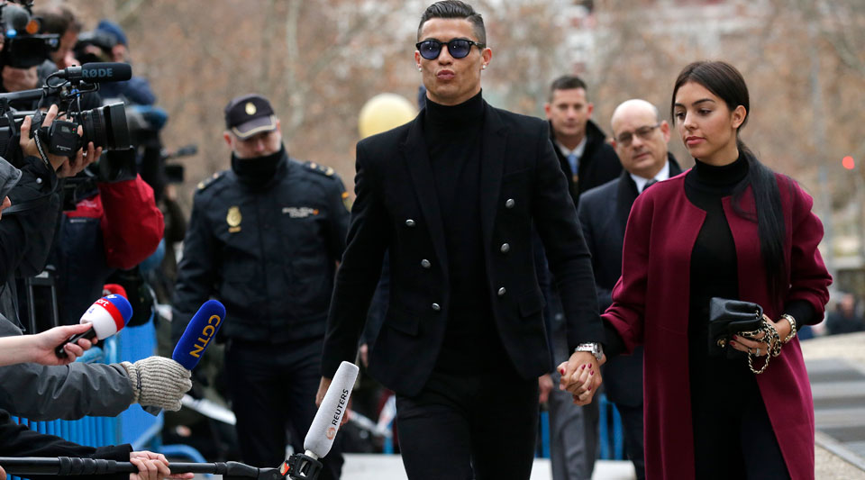 Guilty: Ronaldo takes plea deal in tax fraud case