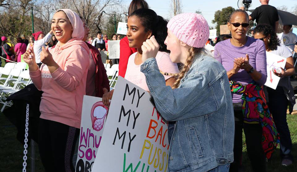 San Jose Women's March draws 18,000 ready to fight racism and misogyny