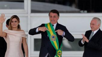 Brazil's Bolsonaro targets minorities on first day in power