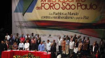Solidaridad con Venezuela, el Foro de São Paulo