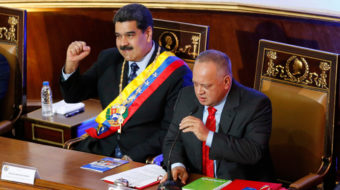 Venezuelan gov't threatens early elections to unseat coup leaders