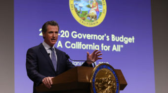 New California governor calls for housing, health care for all