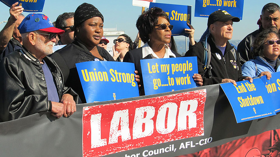 CPUSA labor group praises workers for shutting down the shutdown