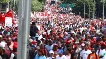 Informe sobre la situación en Venezuela y acciones de solidaridad
