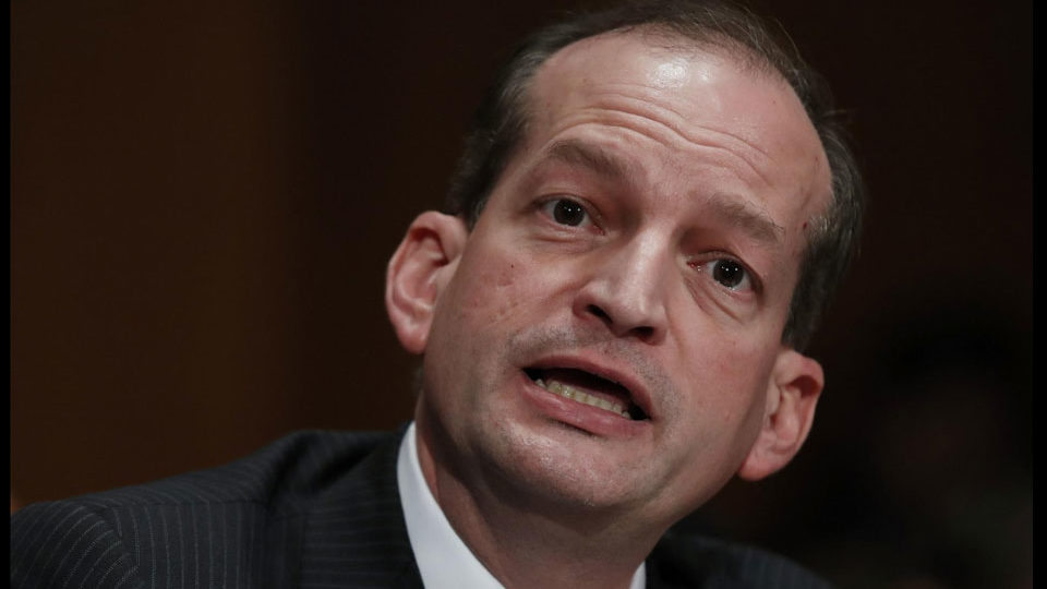 Labor Secretary Acosta covered up sex abuse at Palm Beach mansion