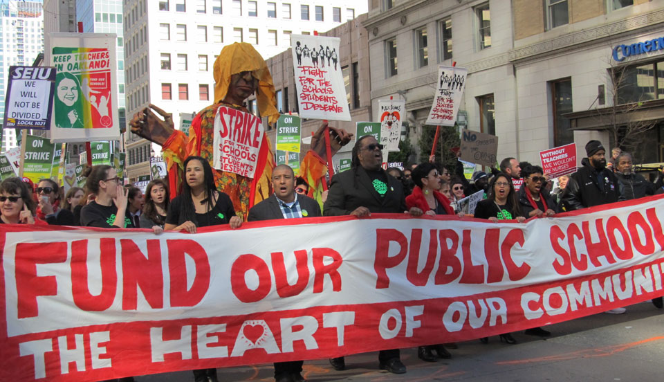 Oakland educators join the nationwide wave of teacher strikes