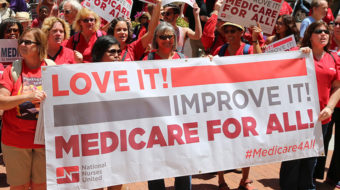 With wide backing, progressive lawmakers formally unveil Medicare For All