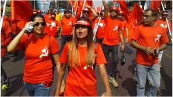 A million Communists rally in India pledging to oust Modi