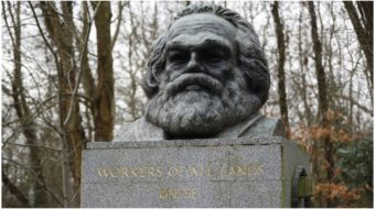 "Grave of Karl Marx attacked by ""fascist vandal"""