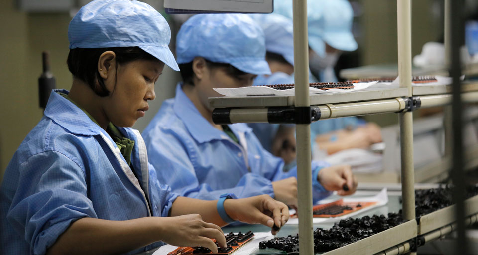 Mobilizing workers: The route to women's emancipation in China