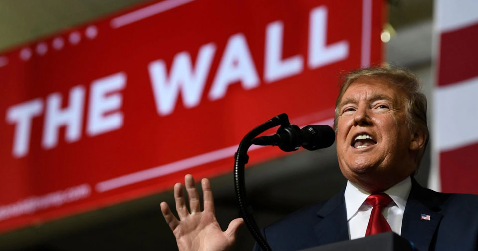 "House OKs bill overturning Trump's ""national emergency"""