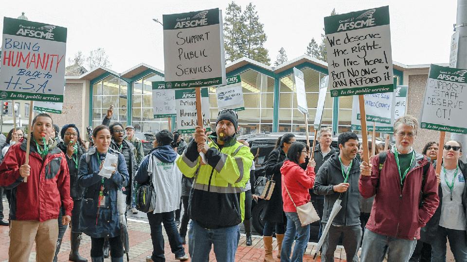 Luchando por mejores condiciones laborales en el Condado de San Mateo
