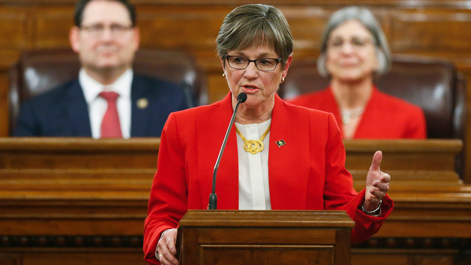 Kansas governor vetoes GOP tax bill to benefit big business