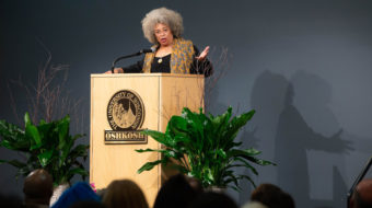 "Angela Davis brings the message of ""abolitionist feminism"" to Wisconsin"