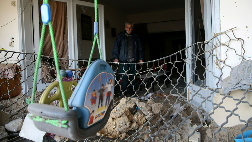 Bombs fall again in Gaza as Netanyahu fights for re-election