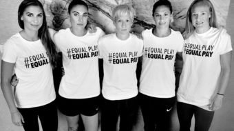 Champion U.S. women's soccer team sues soccer federation for sexual discrimination