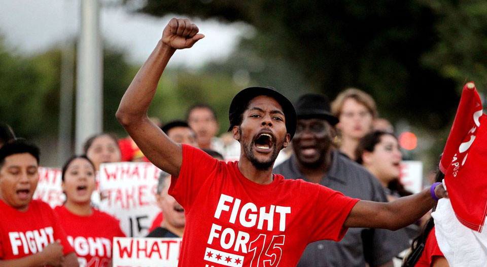 House panel OKs minimum wage hike to $15