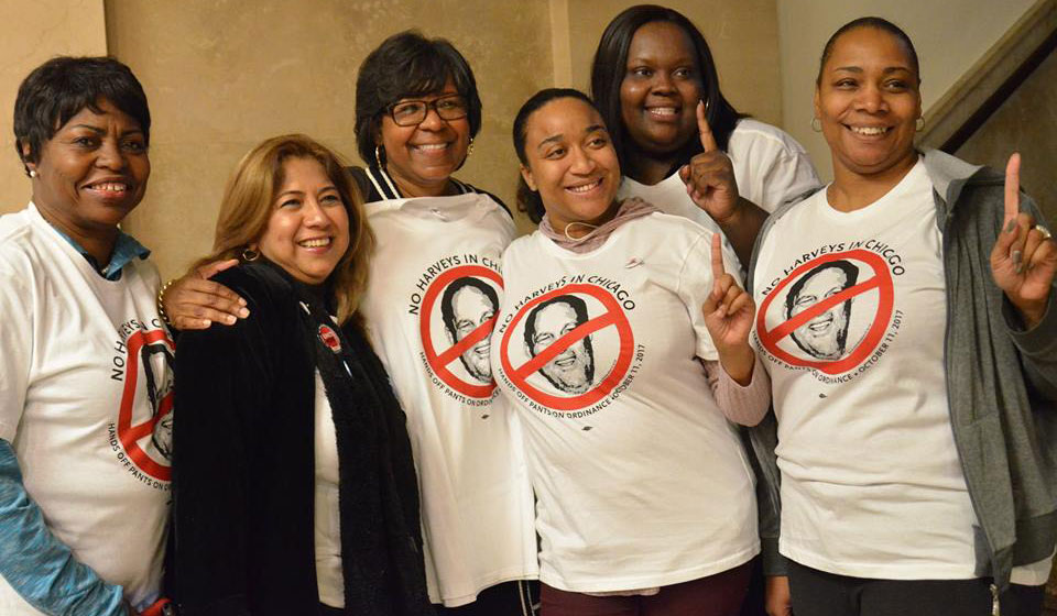 Hands Off, Pants On: Chicago Federation of Labor honors Karen Kent