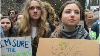 Youth skip school worldwide for global climate strike