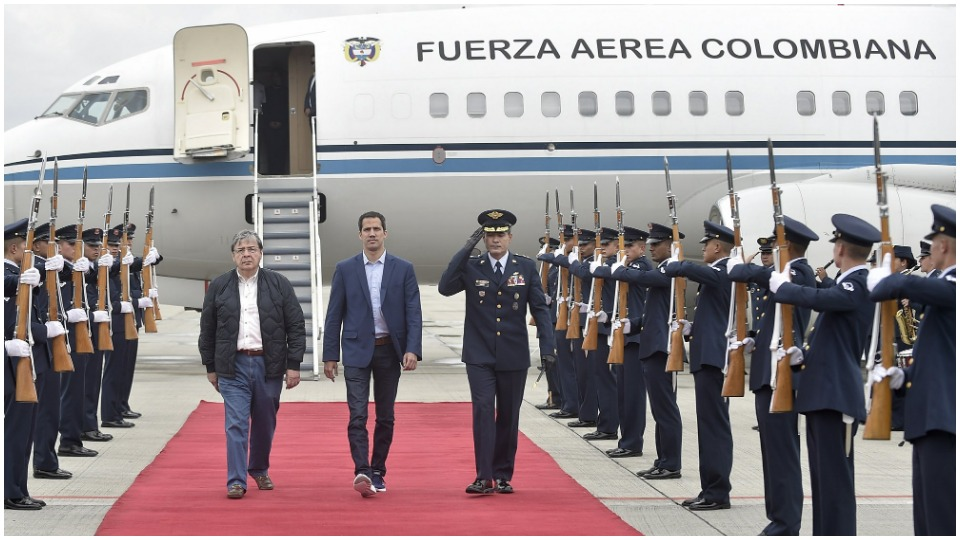 Stage set long ago for encounter at Colombia-Venezuela border
