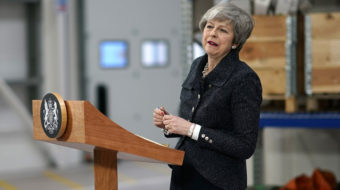 """We may never leave"": Theresa May turns to Brexit scare tactics"