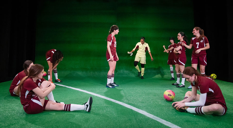 'The Wolves' explores the inner lives of a girls' soccer team