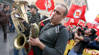 Attention all, Church included: May Day belongs to the workers!