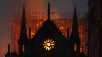 """Our Lady on fire, France in tears""—Notre Dame blaze horrifies world"