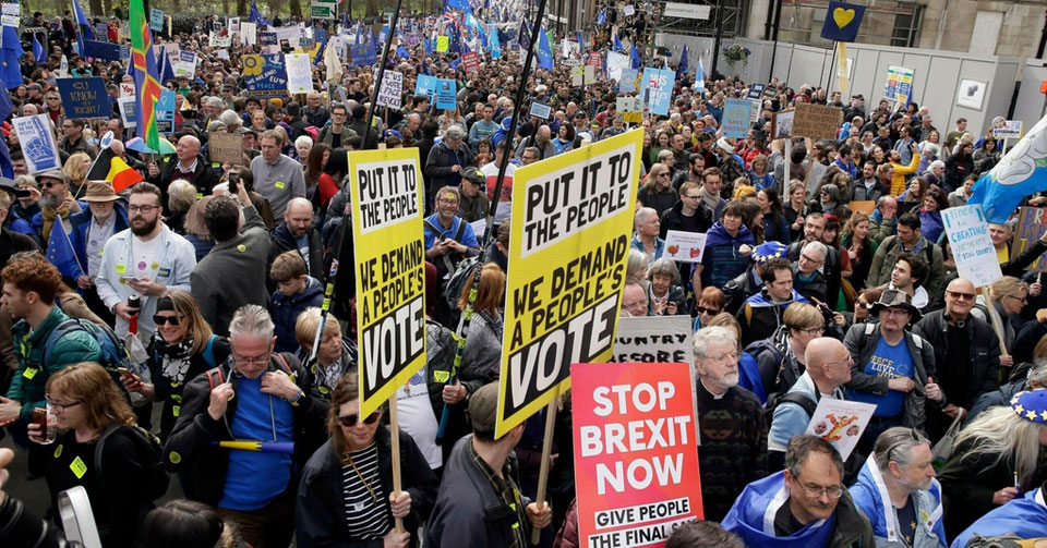 Brexit: The 'Noes' still have it