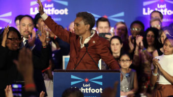 Chicago elects gay black woman mayor and five avowed socialist aldermen