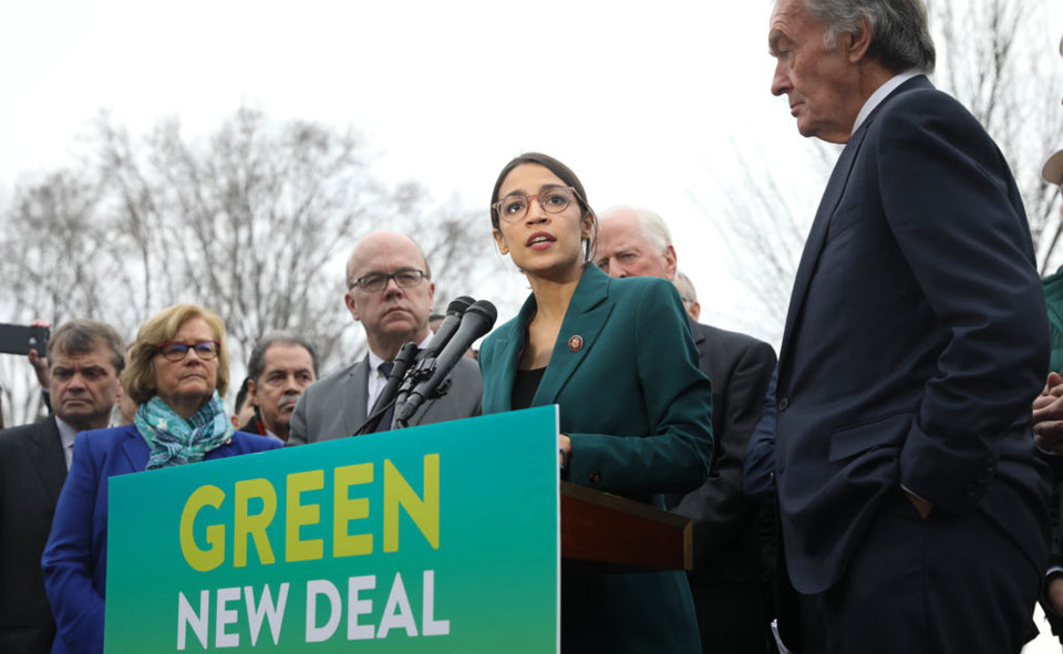 Green New Deal pushing climate change into mainstream media