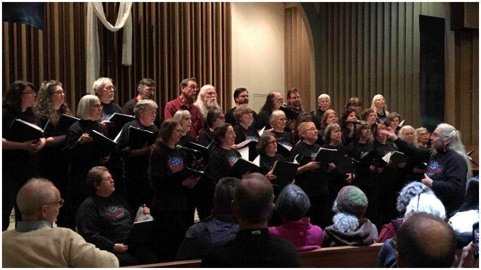 Seattle Labor Chorus sings of 1919 General Strike