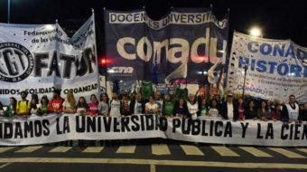 Argentina: Marcha por la educación