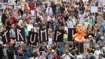 London activists: You can't stop us from marching against Trump