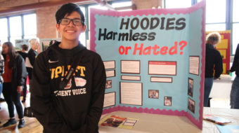 Chicago teens overturn high school hoodie ban
