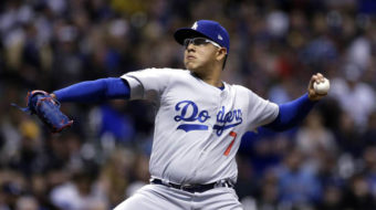 Dodgers' pitcher arrested for allegations of domestic assault