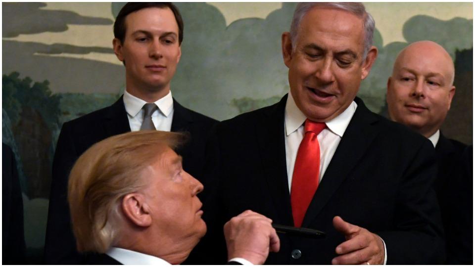 Trump peace plan shrinks Palestine, expands Israel