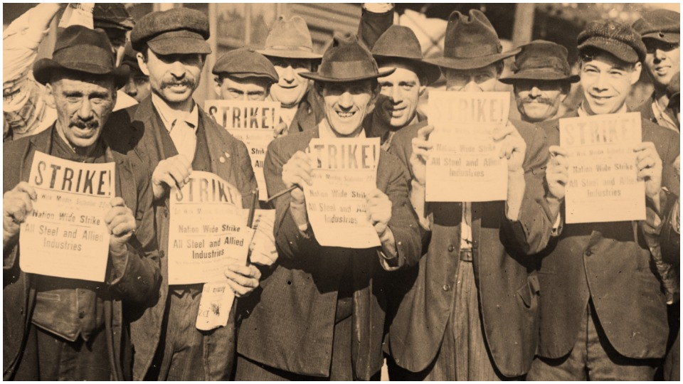 Strike wave 1919: The radical forerunners of the CPUSA