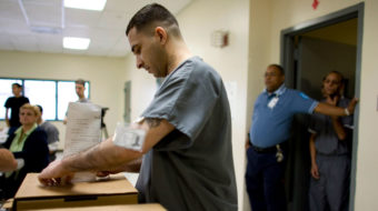 Voting rights for prisoners and the gasp heard 'round the world