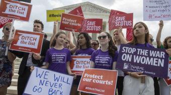 Pro-choice marchers condemn abortion bans, vow retribution in 2020