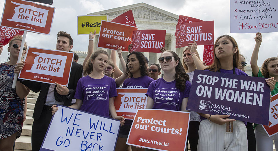 Pro-choice marchers condemn abortion bans, vow retribution in 2020