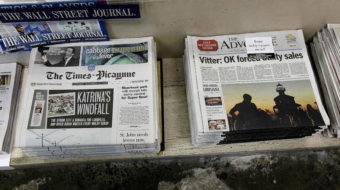 Historic New Orleans paper suddenly shuts down