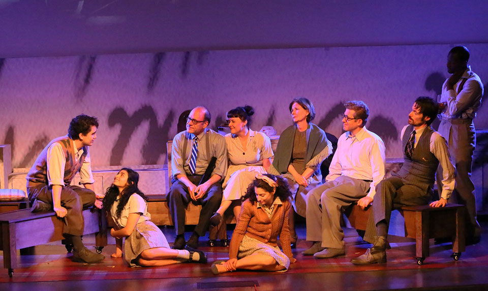 'Anne, A New Play' in U.S. premiere reframes the Anne Frank story