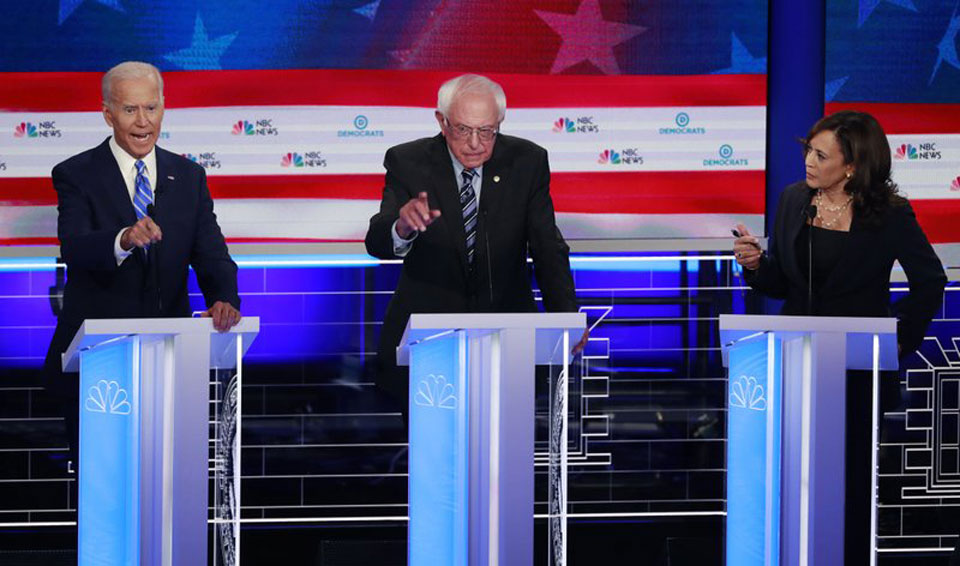 Racial justice, health care, attacks on Trump mark the second debate