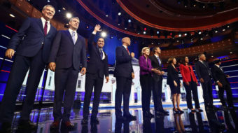 First Democratic debate features progressive stands on economy, immigration, health care