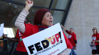 Airline food service workers voting on strike authorization